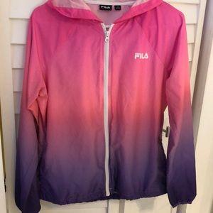 Fila pink and purple jacket